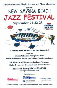 The First Jazz Festival poster from 2001