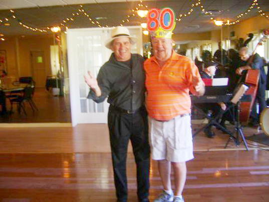 Ed Lange, 80th birthday party at Hidden Lakes, New Smyrna Beach. November 29,2014